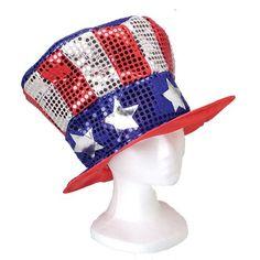 Sequin US Hat * Click image for more details.
