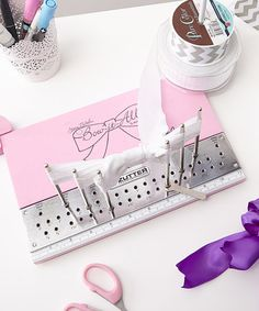 Another great find on #zulily! Bow It All V 2.0 Craft Tool #zulilyfinds