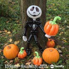 It was hard to pick just one balloon to design for#TheNightmareBeforeChristmas! This movie rocks. Watch it tonight at 9:30/8:30c on#ABCFamily's#13NightsofHalloween!  And be sure to check out 365 Days of Balloons now onFacebook,TwitterandInstagram!