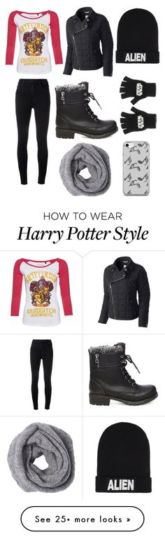 """""""winter"""" by anngel24 on Polyvore featuring SOREL, J Brand, Steve Madden, Nicopanda and Music Notes"""