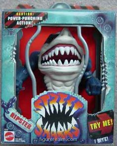 Street Sharks had the coolest packaging ever