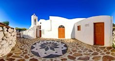 The Evangelistria Monastery at Nisyros Island, Greece, Places To Travel, Places To See, Myconos, Greek House, Greece Islands, Crystal Clear Water, Archaeological Site, Greece Travel, Beautiful Islands