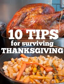 Stir and Scribble: just a tip | Ten Tips for Surviving Thanksgiving
