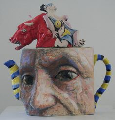 Noi Volkov (many teapots based on artists/artworks throughout history.)