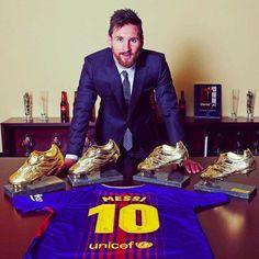 Lionel Messi 4ta Bota de Oro, FC BARCELONA #futbolbarcelona #futbolmessi