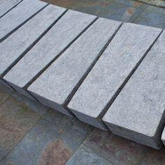 STREETLIFE Stone Bench Granito, made of natural stone tablets #StreetFurniture #UrbanDesign #StoneBench