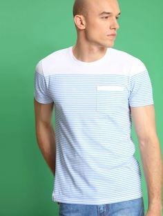 T-shirt męski Top Secret z kolekcji wiosna-lato 2016. Top Secret, Mens Fashion, Model, Mens Tops, T Shirt, Shopping, Moda Masculina, Supreme T Shirt, Man Fashion