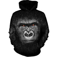 Harambe Face Hoodie