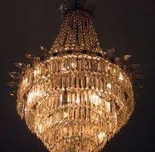"Looks like the chandelier in "" Phantom of the Opera."" I love it!"