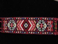 persian cuff bracelet, peyote beads