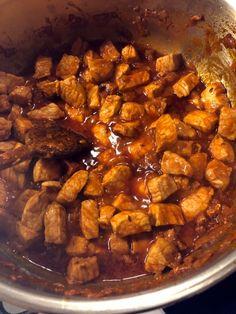 Kung Pao Chicken, Ethnic Recipes, Food, Red Peppers, Essen, Meals, Yemek, Eten