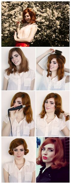 HOW TO: SIXTIES HAIR TUTORIAL by Vanessa | Powder Doom