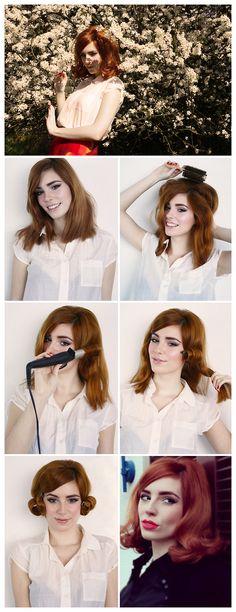 HOW TO: SIXTIES HAIR TUTORIAL by Vanessa | Powder Doom