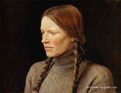 Andrew Wyeth's Helga portraits are a thing of beauty.