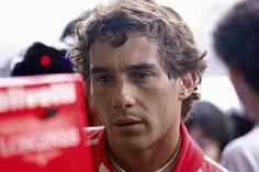 Ayrton Senna of Brazil. Sao Paulo 25 March 1990