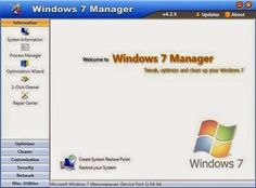 Free software's download | Free IT Tutorials  | E learning  | online sharing community: Windows 7 Manager 5.0.4