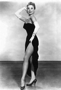 "A shot of Mitzi Gaynor, from the George Cukor film, ""Les Girls"" (M-G-M; Old Hollywood Glamour, Vintage Glamour, Vintage Hollywood, Vintage Beauty, Classic Hollywood, Hollywood Style, Hollywood Icons, Hollywood Actresses, Vintage Tv"