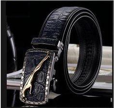 2015 genuine Leather Belts For Men mens belts luxury designer belts men high quality crocodile grain Jeans pants Leopard belts Designer Belts, Luxury Designer, Crocodile, Mens Belts Fashion, Leopard Belt, Luxury Belts, Hermes Belt, Iphone Wallet Case, Leather Belts