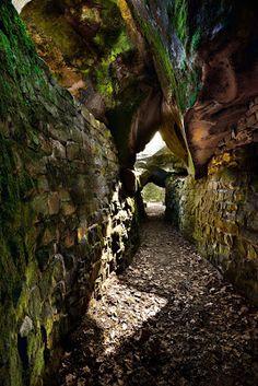 Grotte du Serment, forêt de Fontainebleau