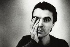 I couldn't talk to people face to face, so I got on stage and started screaming and squealing and twitching.  —David Byrne