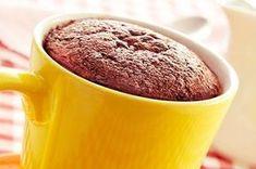 Print Recipe: Microwave Chocolate Peanut Butter Mug Cake - Slender Kitchen Tasty Chocolate Cake, Chocolate Mug Cakes, Gluten Free Chocolate, Chocolate Peanut Butter, Decadent Chocolate, Torta Chocolate, Chocolate Protein, Chocolate Desserts, Health Desserts