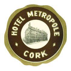 IRELAND - Cork - Hotel Metropole | by Luggage Labels by b-effe