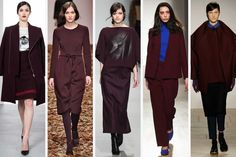 Eggplant! Fringe! Pink! The 8 Biggest Trends from London Fashion Week. Surprise: more '70s!