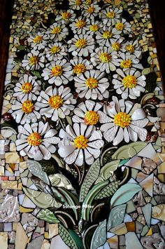 Resultado de imagem para Mosaic dog by Solange Piffer Mosaic Artwork, Mosaic Wall Art, Mosaic Diy, Mosaic Garden, Mosaic Crafts, Mosaic Projects, Tile Art, Mosaic Tiles, Garden Art