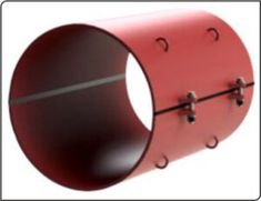 Split sleeves are widely used for making repairs to a variety of high or low pressure and high or low temperature pipelines, containing oil, water, gas, steam and chemical fluids. The clamp halves are joined by bolts to form a high integrity pressure vessel around the damaged or leaking pipe. Sealing is provided by elastomer seals of the highest quality selected for compatibility with the pipeline fluid etc. Leaking Pipe, Stainless Steel Pipe, The Pipeline, Oil Water, Steel Plate, Seals, Clamp, Pipes, Integrity