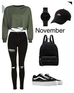Bad Girl Outfits, Teenage Girl Outfits, Komplette Outfits, Girls Fashion Clothes, Teen Fashion Outfits, Retro Outfits, Outfits For Teens, Polyvore Outfits Casual, Girl Fashion