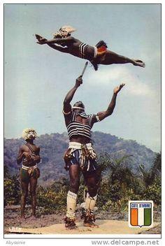 Danseurs aux couteaux Yacouba - Ivory Coast