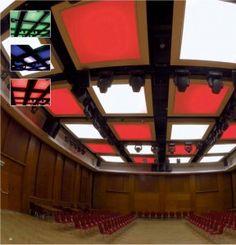 Placas decorativas para falsos techos desmontables