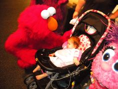 Here is a beautiful photo sent to us from guest Debbie V. of her daughter Kairi enjoying a moment with Elmo at SeaWorld Orlando