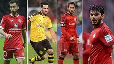 Bundesliga'da başarılı 20 Türk asıllı futbolcu