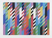 Bridget Riley - Op Art part 2 Bridget Riley Artwork, Hard Edge Painting, Concrete Art, Illusion Art, Geometric Art, Art Images, Les Oeuvres, Screen Printing, Pop Art