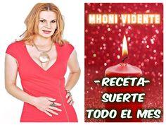 Receta para el Día 1- TENER SUERTE TODO EL MES | Mhoni Vidente