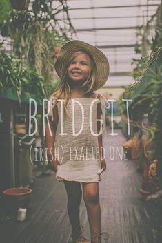 Bridget: Irish Name meaning Exalted One Cute Baby Names, Pretty Names, Unique Baby Names, Baby Girl Names, Kid Names, Baby Name List, Future Daughter, Names With Meaning, Everything Baby