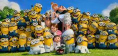 The Minions have been nominated for an Oscar! Well, Dru has been also. :)