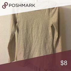 Shirt Long sleeve tan colored jcrew factory shirt. Tops Tees - Long Sleeve