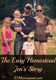 Homesteading to me means raising and growing food as our ancestors did. Using and sourcing everything the way it was intended to be used and put on this earth for.