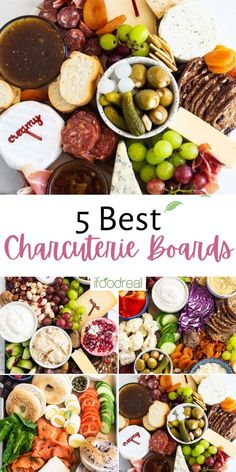 The 5 best Charcuterie Board Ideas to impress, plus all the top tips, tricks, and 'formulas' to creating the perfect charcuterie board every single time! Clean Eating Recipes, Healthy Dinner Recipes, Real Food Recipes, Healthy Snacks, Snack Recipes, Beet Chips, Vegan Appetizers, Food Website, Easy Family Meals