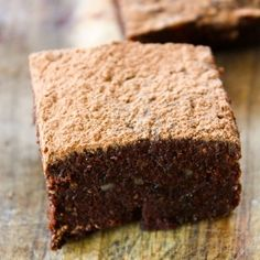 Tea Infused Raw Chocolate Brownies