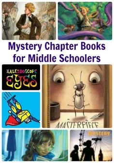 Mystery Chapter Books for Middle Schoolers