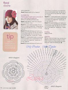 Resultado de imagen para gorros en crochet para mujer patrones