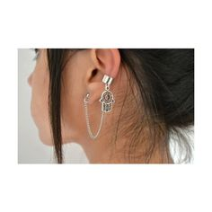 Trend Alert Ear Cuff's found on Polyvore featuring jewelry and piercings