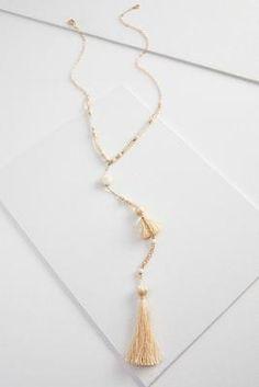 Versona tassel y-necklace #Versona
