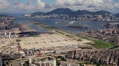 Sitting partly in the city and partly in the sea, Kai Tak International Airport was one of the world's most exciting (and terrifying) airports to fly into.