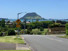 Bill ✔️ View from Tauranga (Otumoetai) across the harbour to Mount Maunganui, New Zealand. Tauranga New Zealand, Mount Maunganui, Historical Photos, Caption, Iphone, Country, Beach, Image, New Zealand