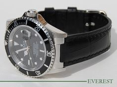 rolex leather - Google Search