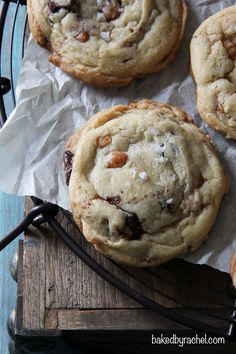 Salted Caramel and Chocolate Chunk Cookies Recipe